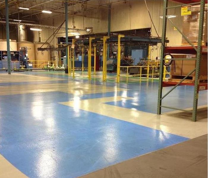 Commercial Water Damage – Minnetonka Plant After