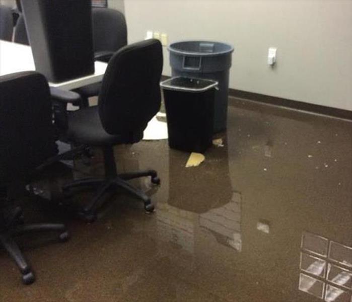 Minneapolis Storm Damaged Office Before