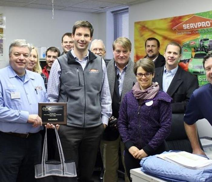 The Ambassadors from Eden Prairie Chamber of Commerce Visit SERVPRO