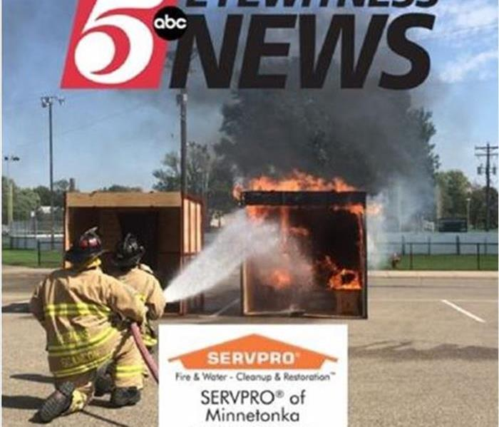 SERVPRO Helps Promote Fire Safety on ABC News