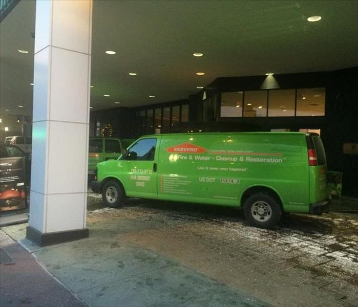 Downtown Minneapolis Hotel Is Restored by SERVPRO