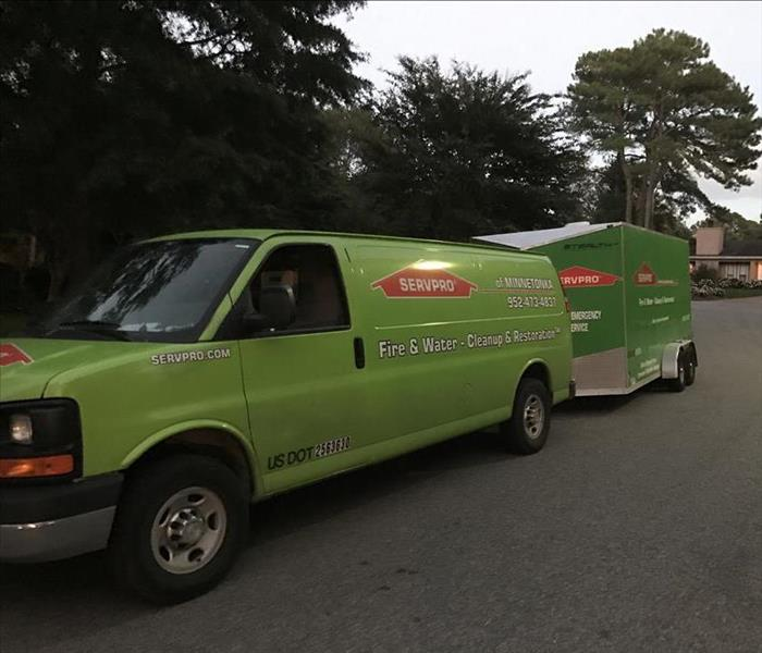SERVPRO's Traveling Rescue Team