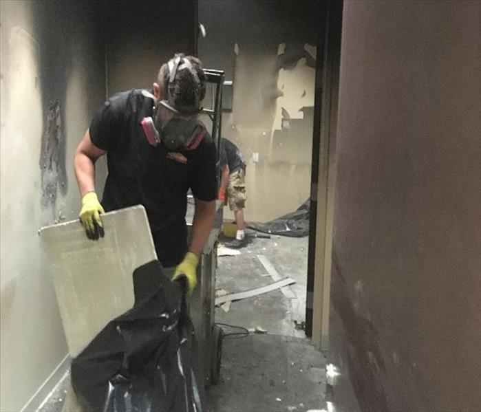 Fast Smoke & Fire Cleanup for an Eden Prairie Office Building