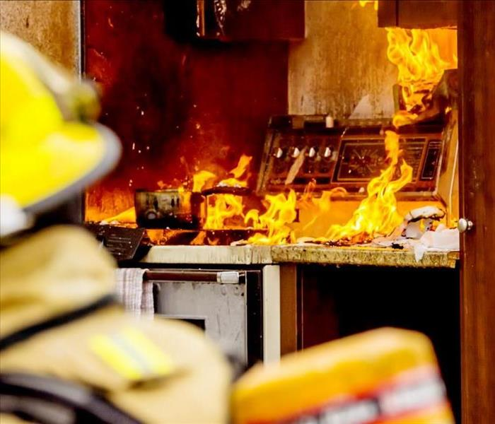Fire Damage Accidentally Leaving Your Stove On Can Cause A Fire In Your Minneapolis Home